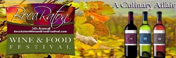 5th Annual Boca Raton Wine & Food Festival..