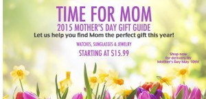 Time Stops on Mother's Day