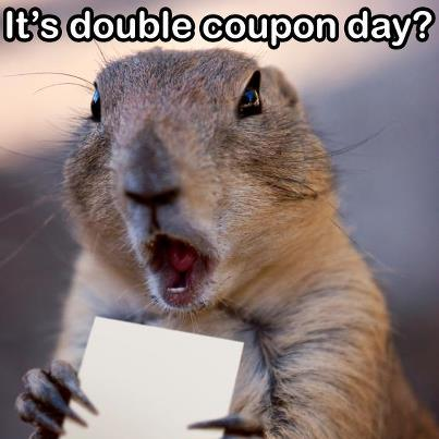 Double coupon days at market basket