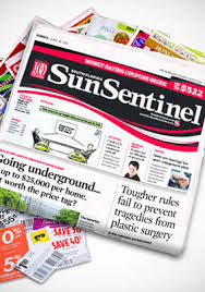 Sun Sentinel with coupons