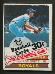 Baseball Cards Cello Pack