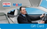 Exxon Mobil gas gift cards
